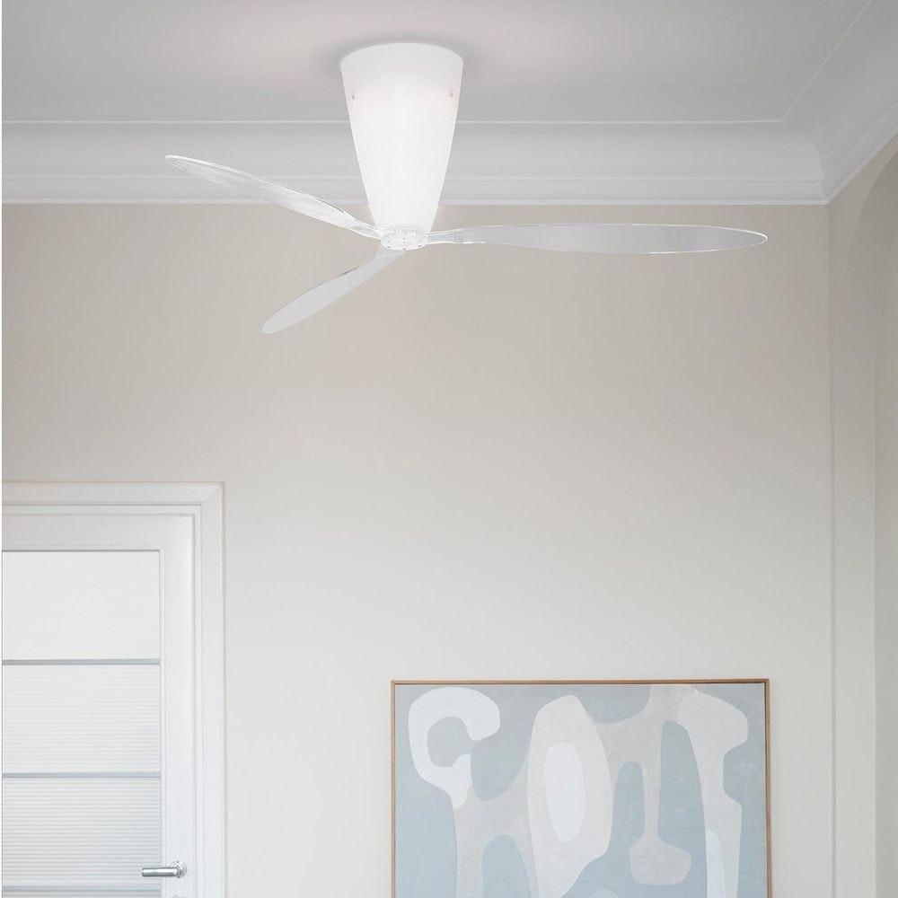 Luceplan Blow Ventilator (Körper) Ø140cm Opalweiß 2