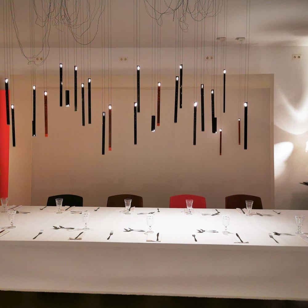 Ingo Maurer Flying Flames Element LED