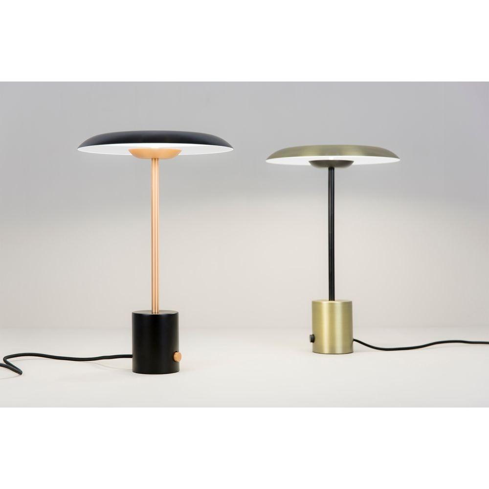 LED Tischlampe HOSHI Schwarz, Kupfer 2