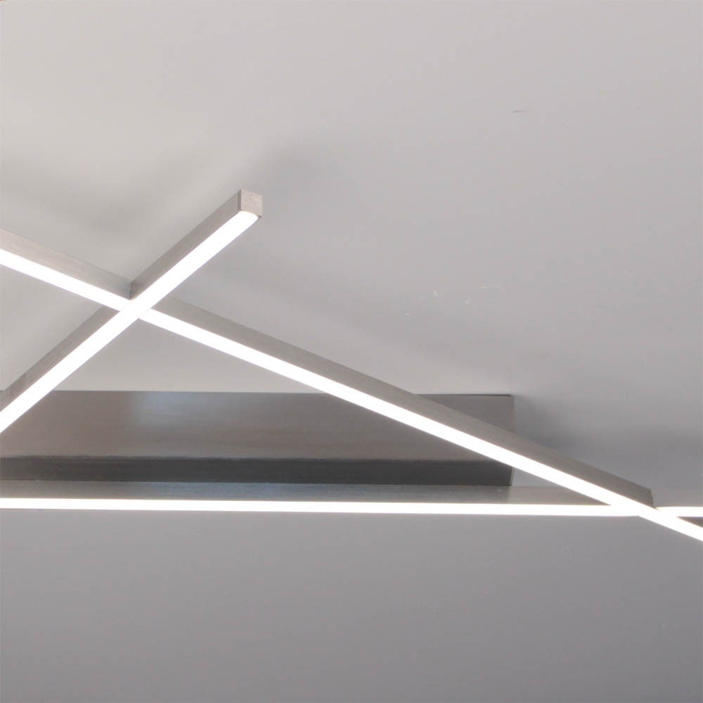 Stick 2 LED Deckenleuchte 57x 33cm Alu-matt 3