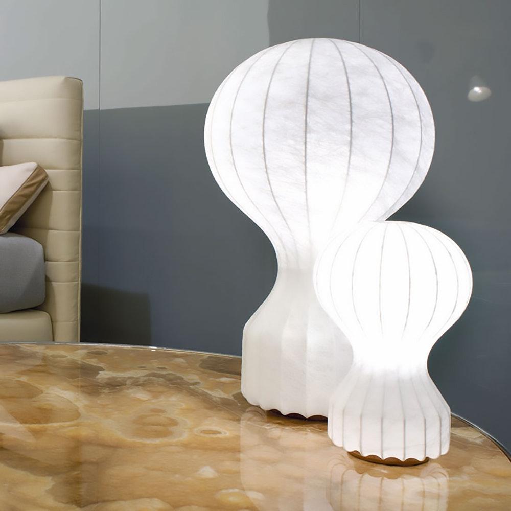 FLOS Gatto Cocoon Tischleuchte Weiß 2