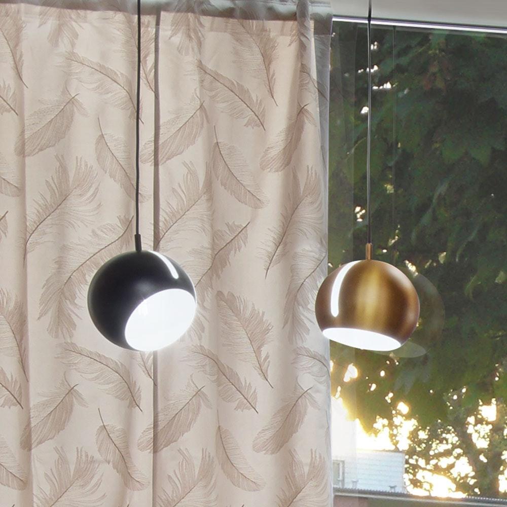 s.LUCE Pendelleuchte Ball verstellbar Ø 20cm Goldfarben thumbnail 3