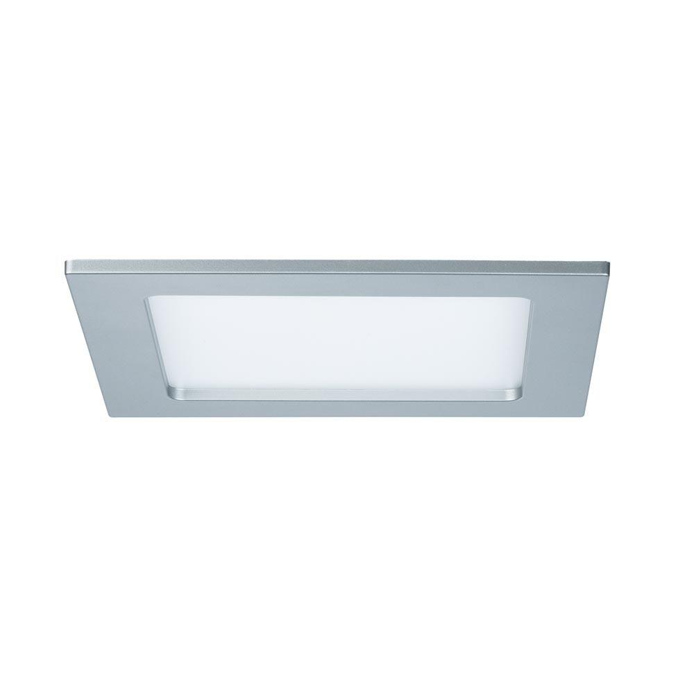 Einbaupanel LED eckig 12W 2700K IP44 2