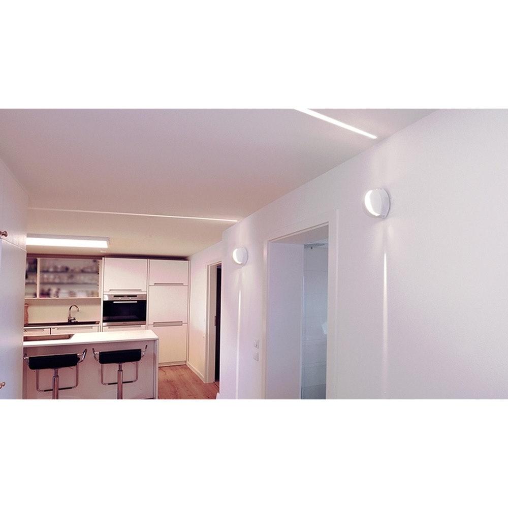 Orio LED-Effekt-Wandleuchte 70lm IP64 Weiß 2