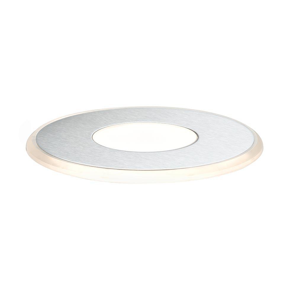 Special EBL Set Deco UpDownlight IP44 LED 3x1W 12V 90mm Edelstahl