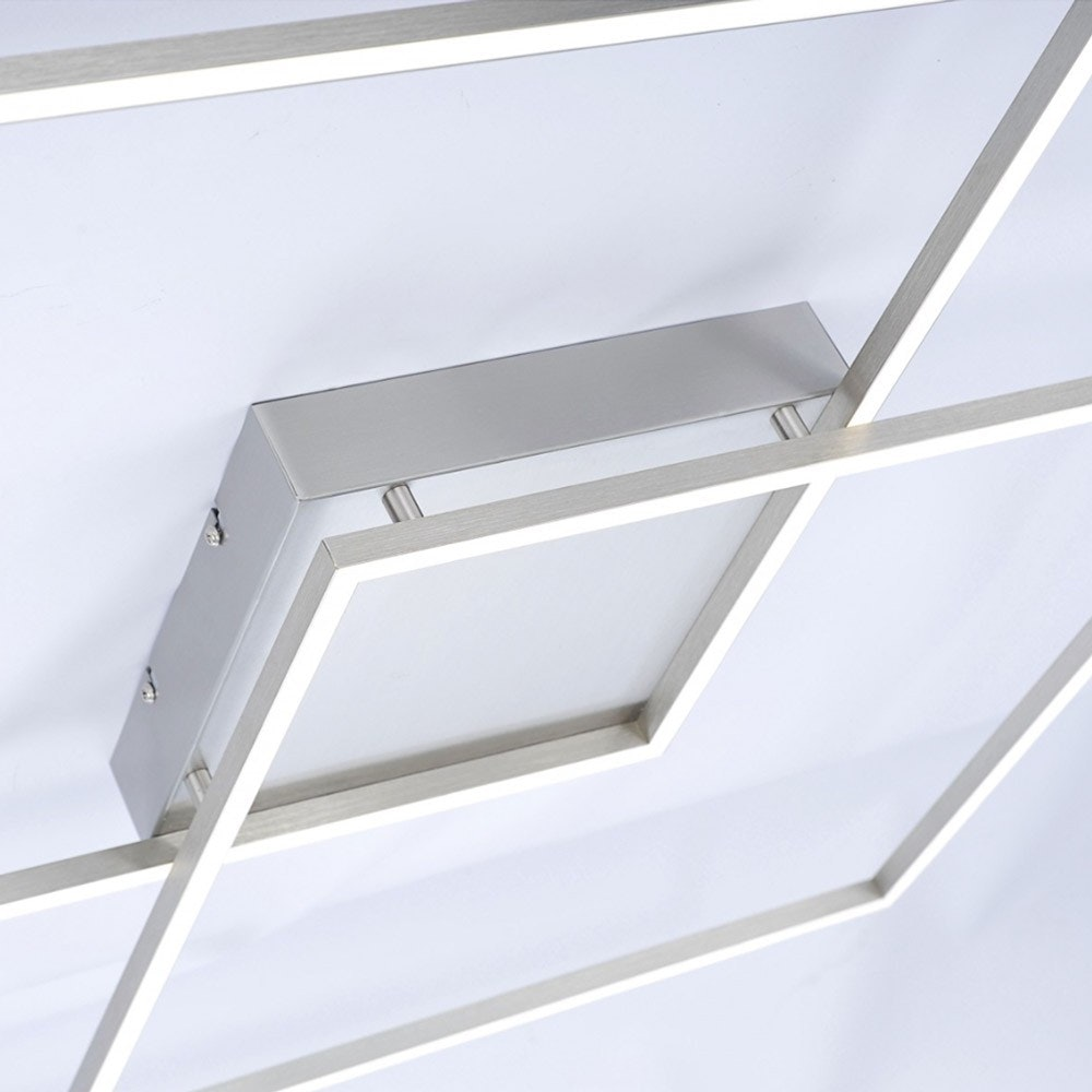 LED Deckenlampe Q-Inigo 2x 28W CCT 4