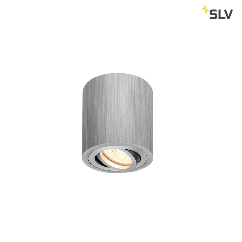 SLV Triledo Deckenaufbauleuchte QPAR51 Alu-Gebürstet