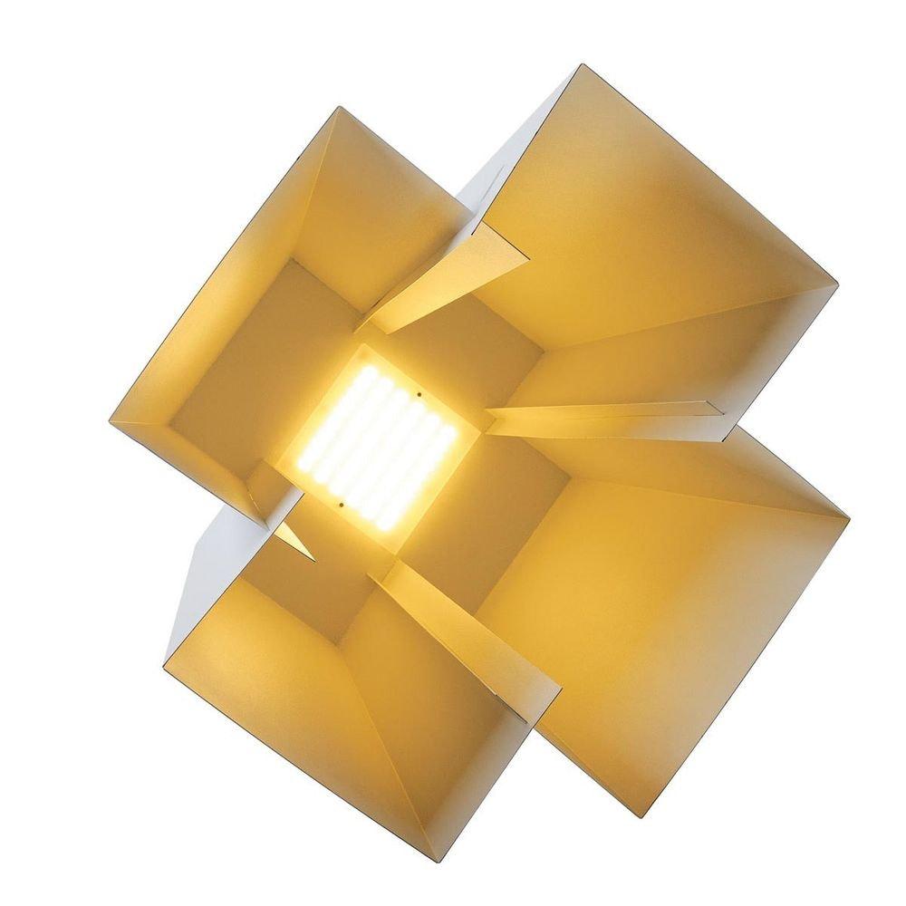 SLV SOBERBIA LED Pendelleuchte 60 eckig Weiß 60 SMD LED 20W 3000K 3