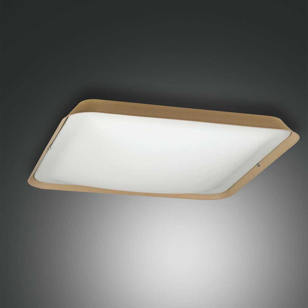 Fabas Luce moderne LED Deckenlampe Hugo aus Metall 1