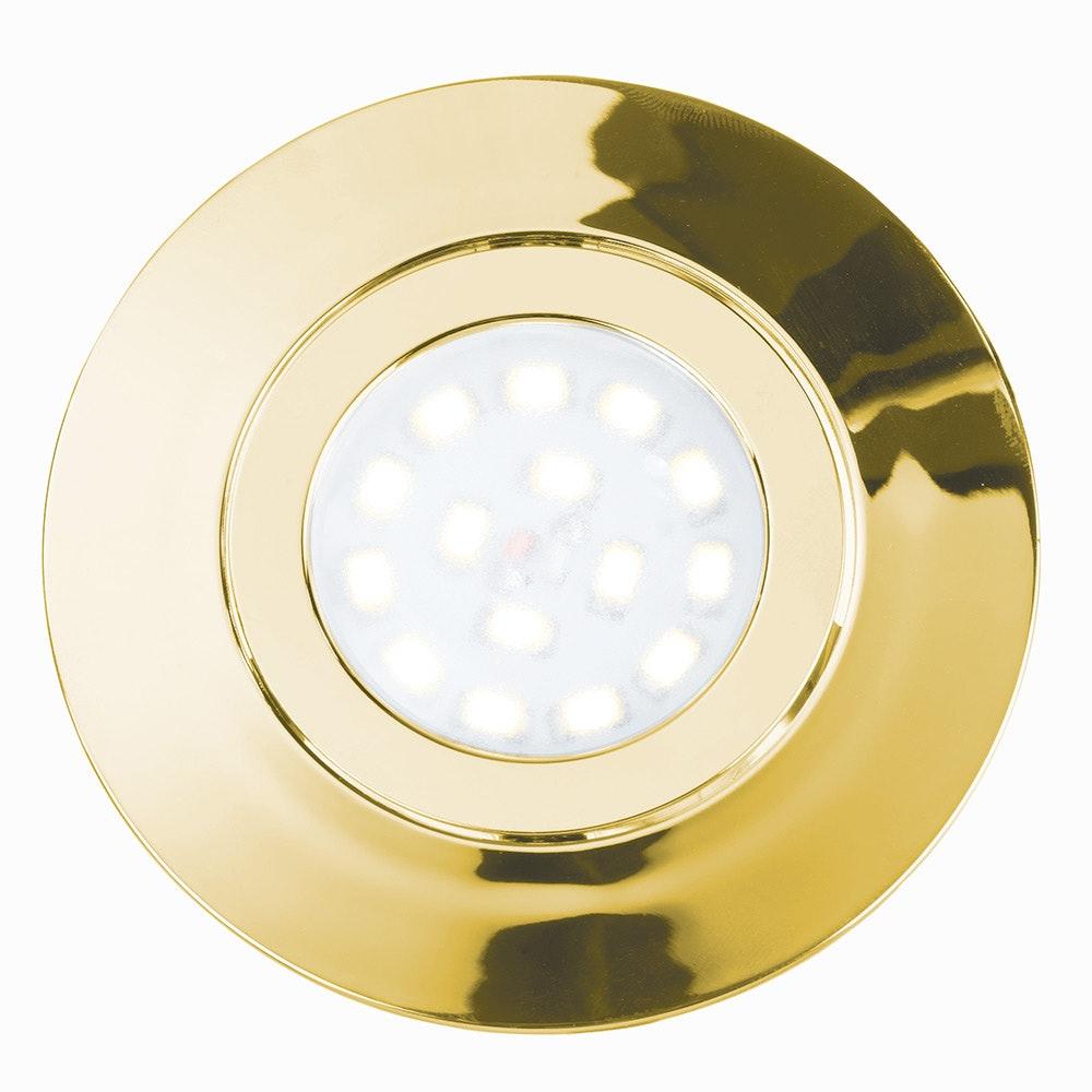 LED Einbauleuchte Movibile IP44 Goldfarben