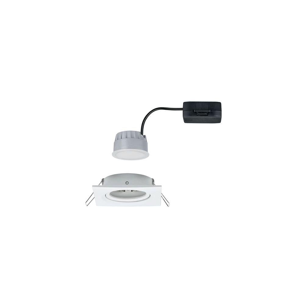 Einbaustrahler LED Nova eckig 3-Stufen Dimmbar Weiß 2