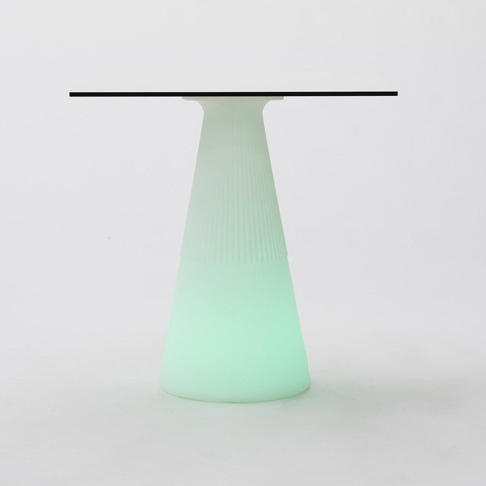 Licht-Trend LED beleuchteter Solar-Tisch Itaca mit Akku und Fernbedienung 4