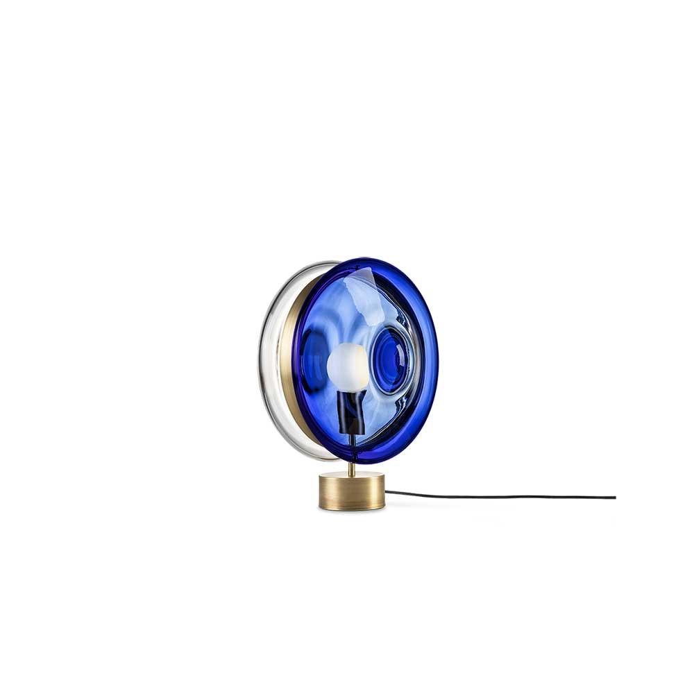 Bomma Glas-Tischlampe Orbital Ø 36cm 13