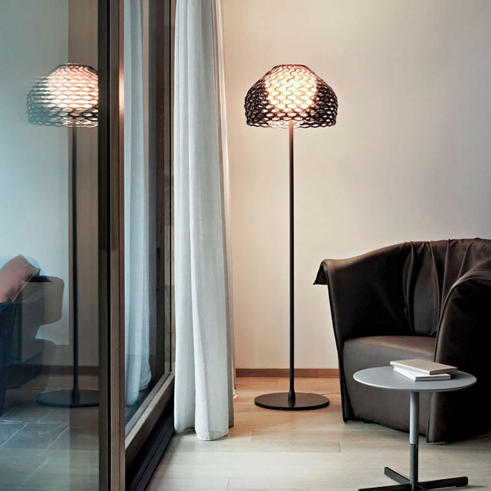 FLOS Tatou F Stehlampe mit Effektschirm 1