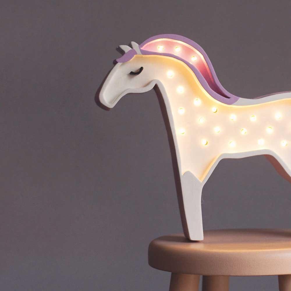 Little Lights Kinder Wand- & Tischleuchte Pferd  2