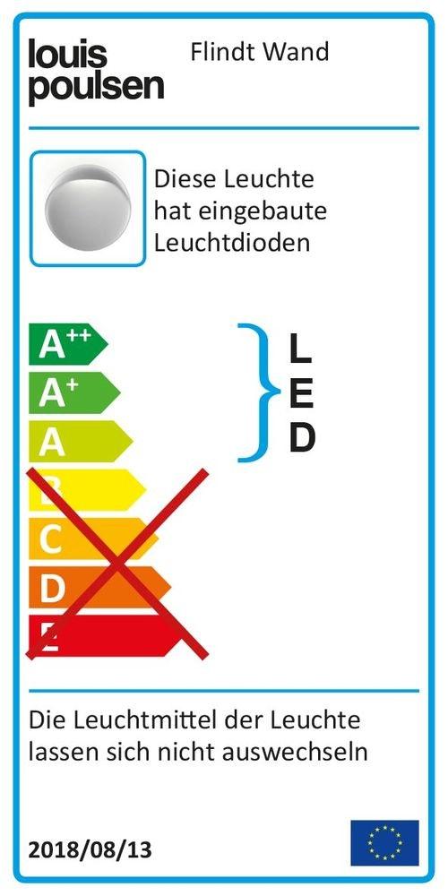 Louis Poulsen LED Wandlampe Flindt für Innen und Außen IP65 20