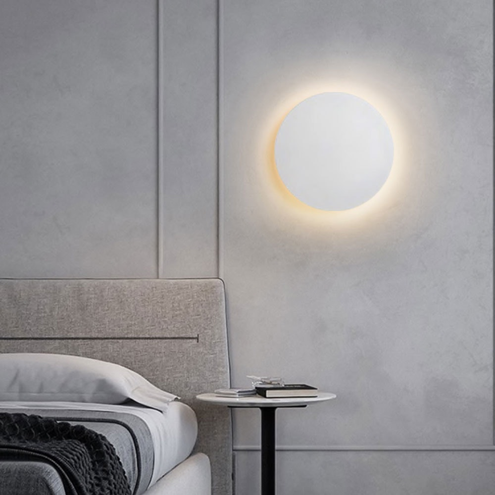 s.LUCE indirekte LED Wandleuchte Plate 15