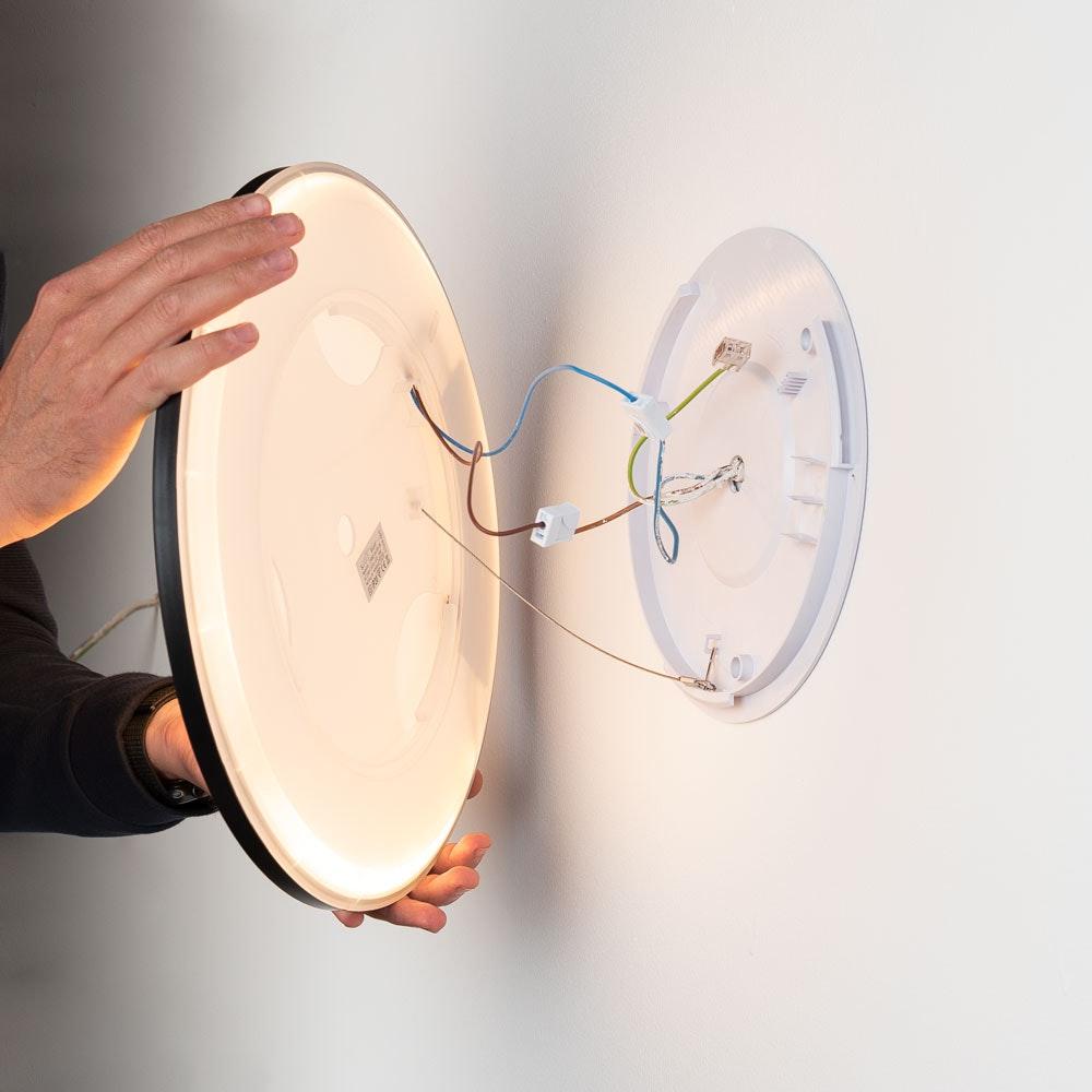 s.LUCE Disk 35cm LED Deckenleuchte warmweiß dimmbar 4