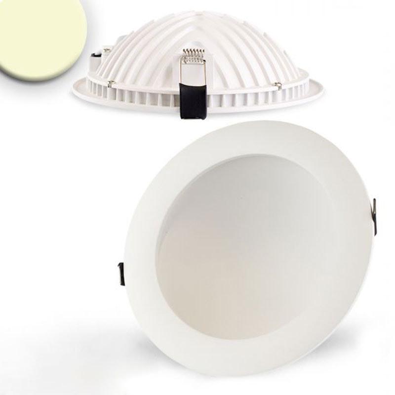Indirektes Einbau LED-Panel 1030lm dimmbar Ø 17,3cm Warm Weiß 1