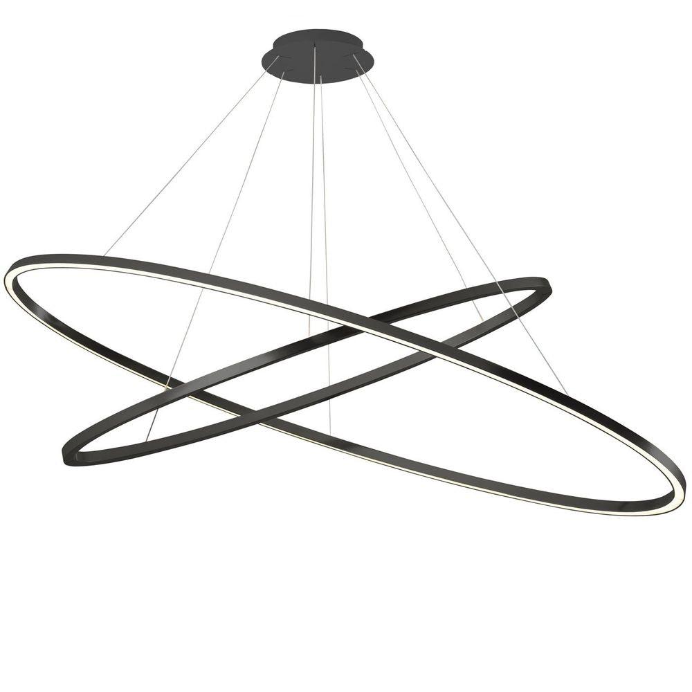 Nemo Ellisse Double LED Hängelampe 135x70cm 10