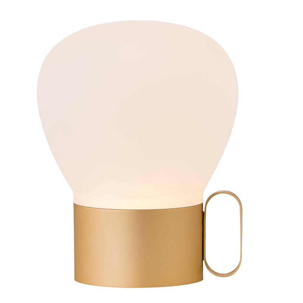 Design for the People LED Tischlampe Nuru IP54 Rosegold, Opalweiß thumbnail 2