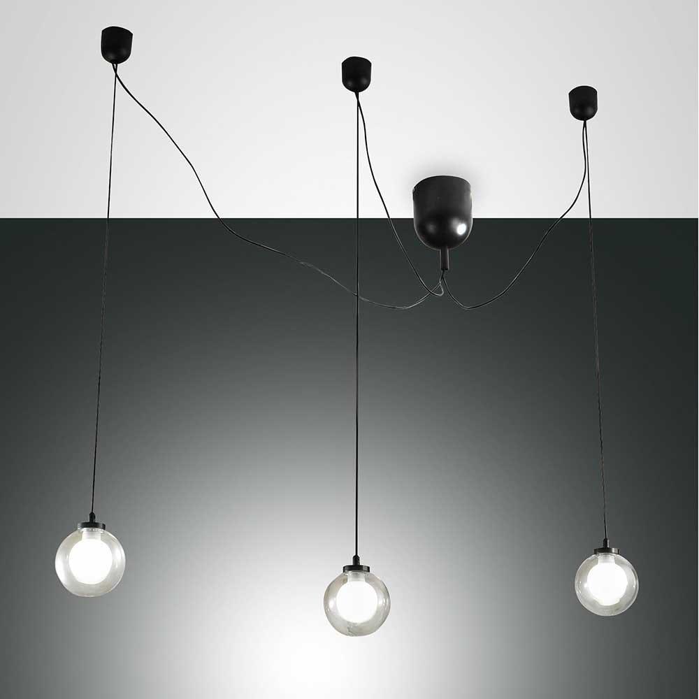 Fabas Luce LED Pendellampe Blog aus Metall 1