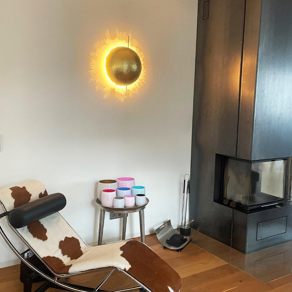 Catellani & Smith PostKrisi W 40 LED Wandleuchte Ø 40cm