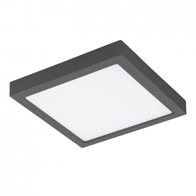 Argolis LED Aussen-Deckenleuchte 30x 30cm 2600lm Anthrazit 1