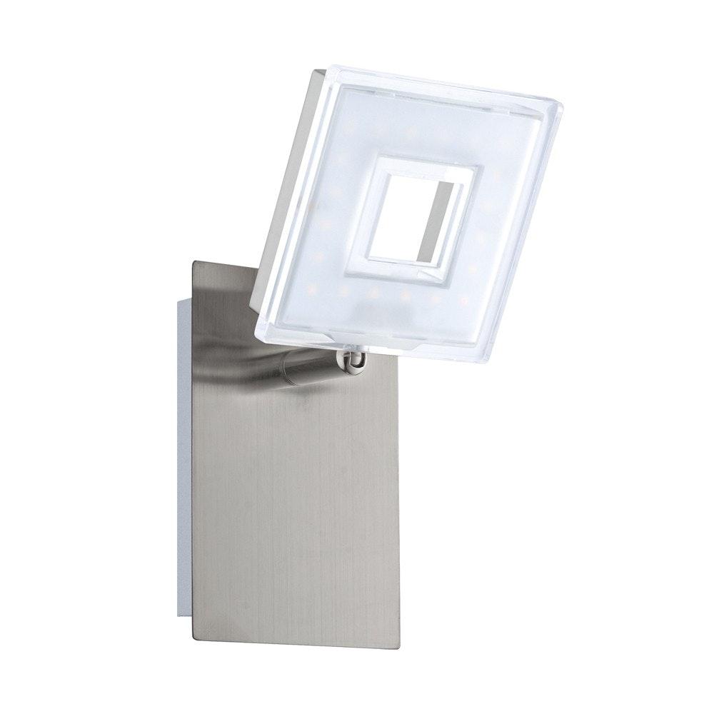Sempre Cube LED Wand- & Spiegelleuchte drehbar Chrom 2