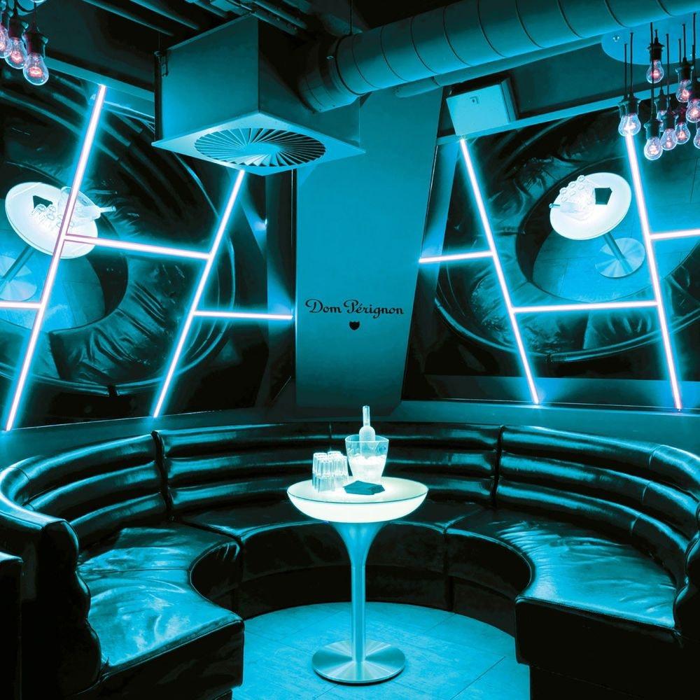 Moree Lounge M 105 LED Tisch 2