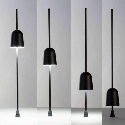 Luceplan LED Schreibtischlampe Ascent schwarz thumbnail 6