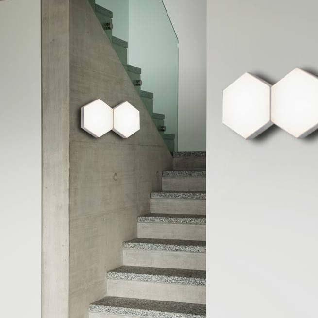 Pettine LED Design Wandleuchte 10W, 3000K 2