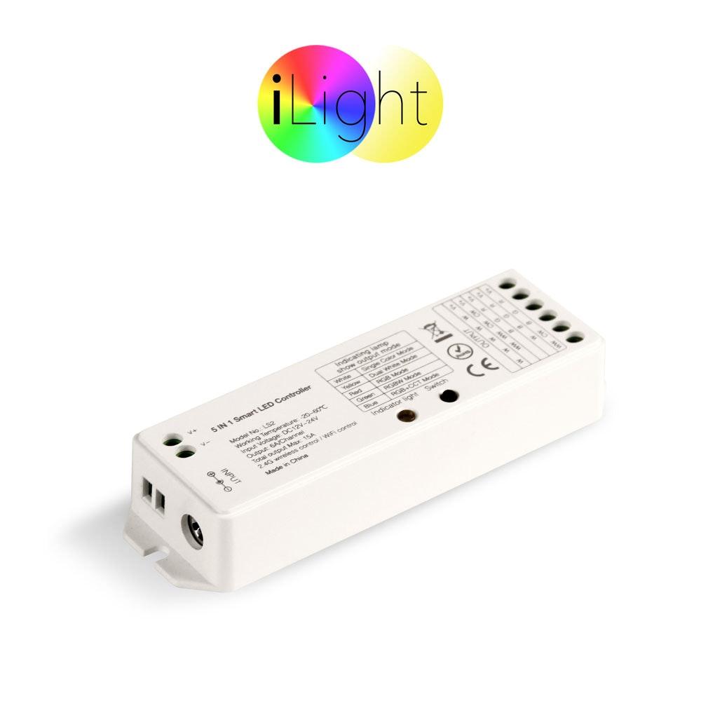 s.LUCE iLight Funk-Controller 5 in 1 für LED-Strips 8-Zonen