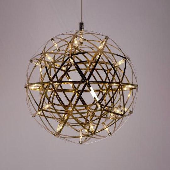 s.LUCE pro Atom 30 dimmbare LED-Hängeleuchte Metallkugel 12