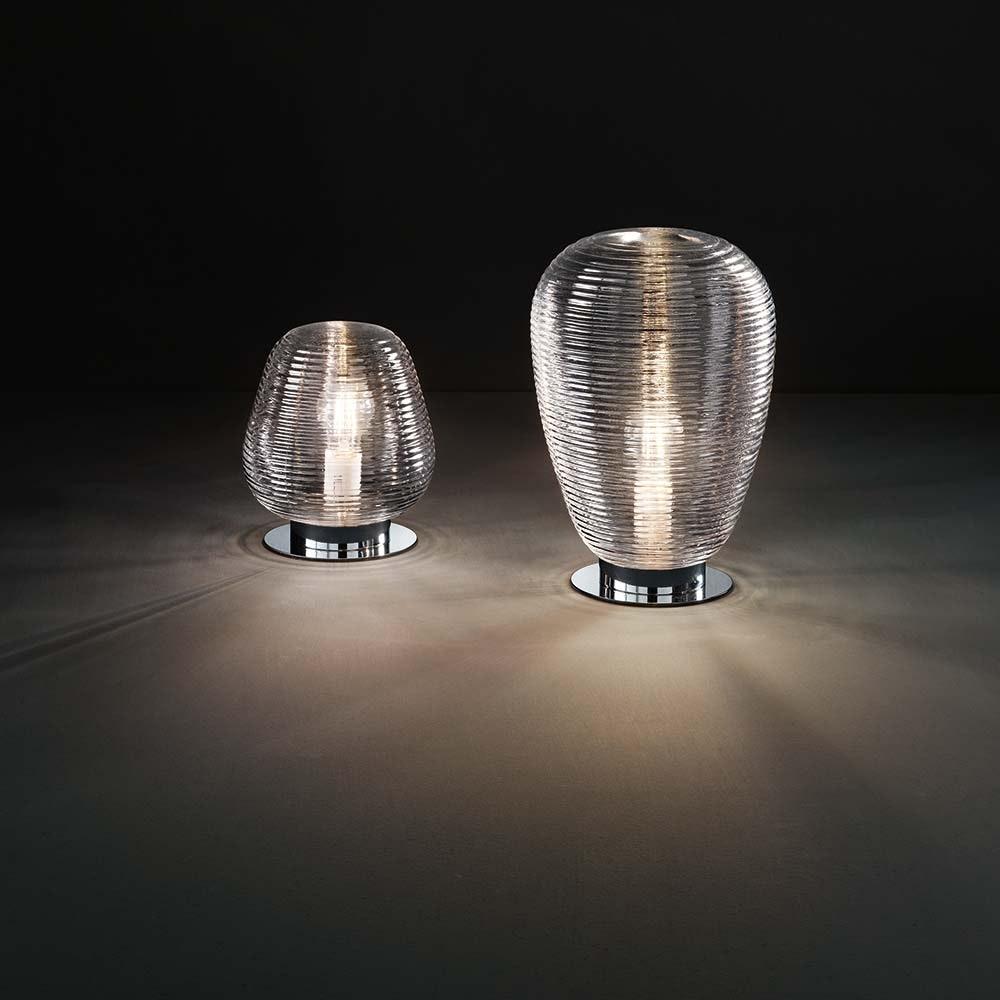 Fabas Luce Tischlampe Cora Transparent 2