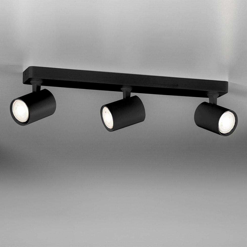 Licht-Trend Wand- und Deckenlampe Cup GU10 Schwarz 5