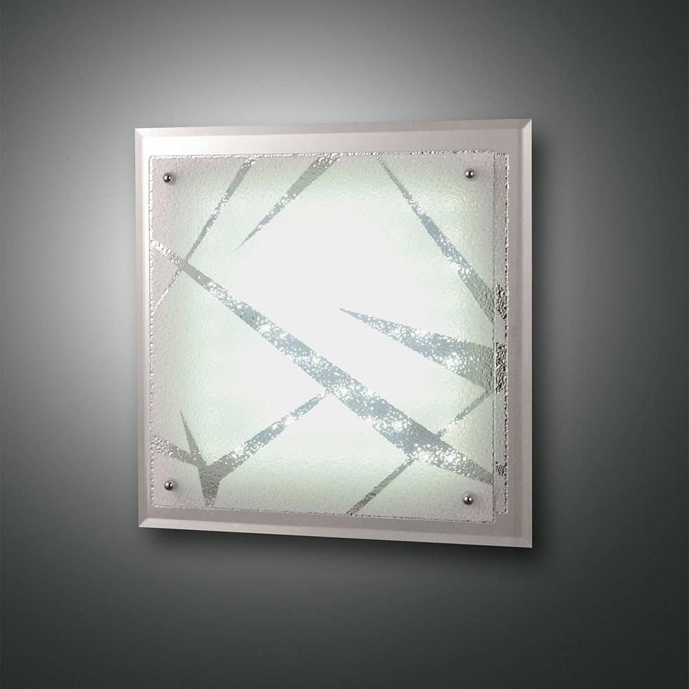 Fabas Luce klassische LED Deckenleuchte Galaxy Weiß 1