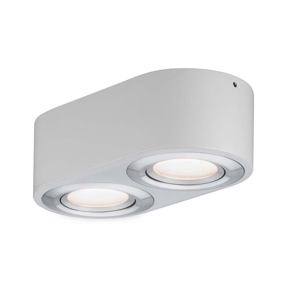 Wandleuchte Argun LED 2x4,8W Weiß Alu-Gebürstet 1