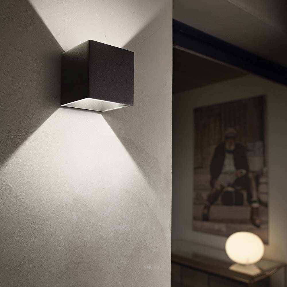 Ideal Lux Wandleuchte Rubik Ap1 Schwarz