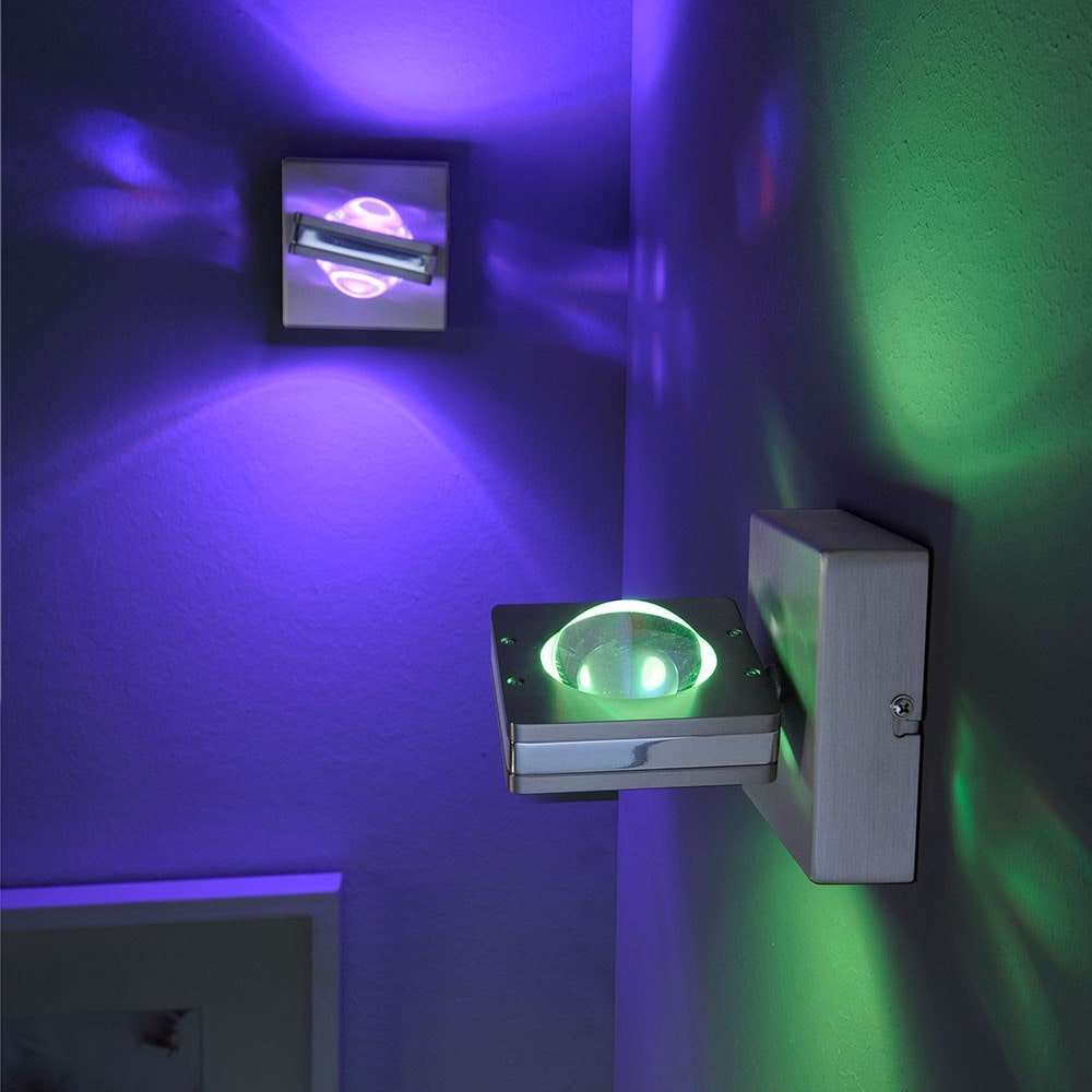 LED Wandlampe Q-Fisheye RGBW mit Smart-Steuerung thumbnail 3