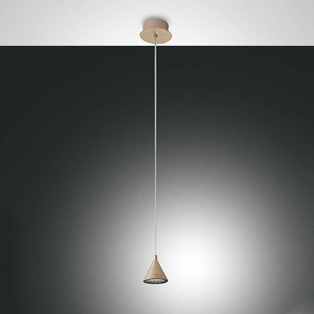 Fabas Luce LED Pendelleuchte Delta Metall 2
