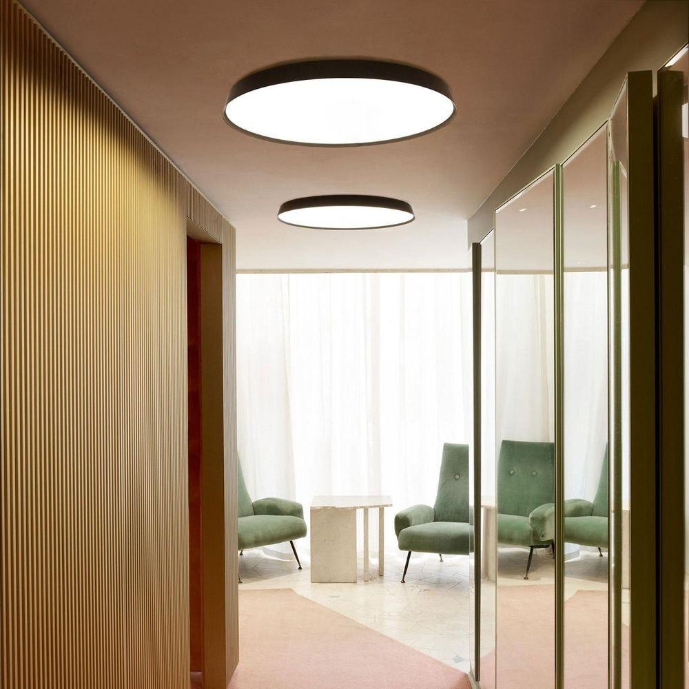 Luceplan LED Wand- & Deckenlampe Compendium Plate Ø 56cm 3