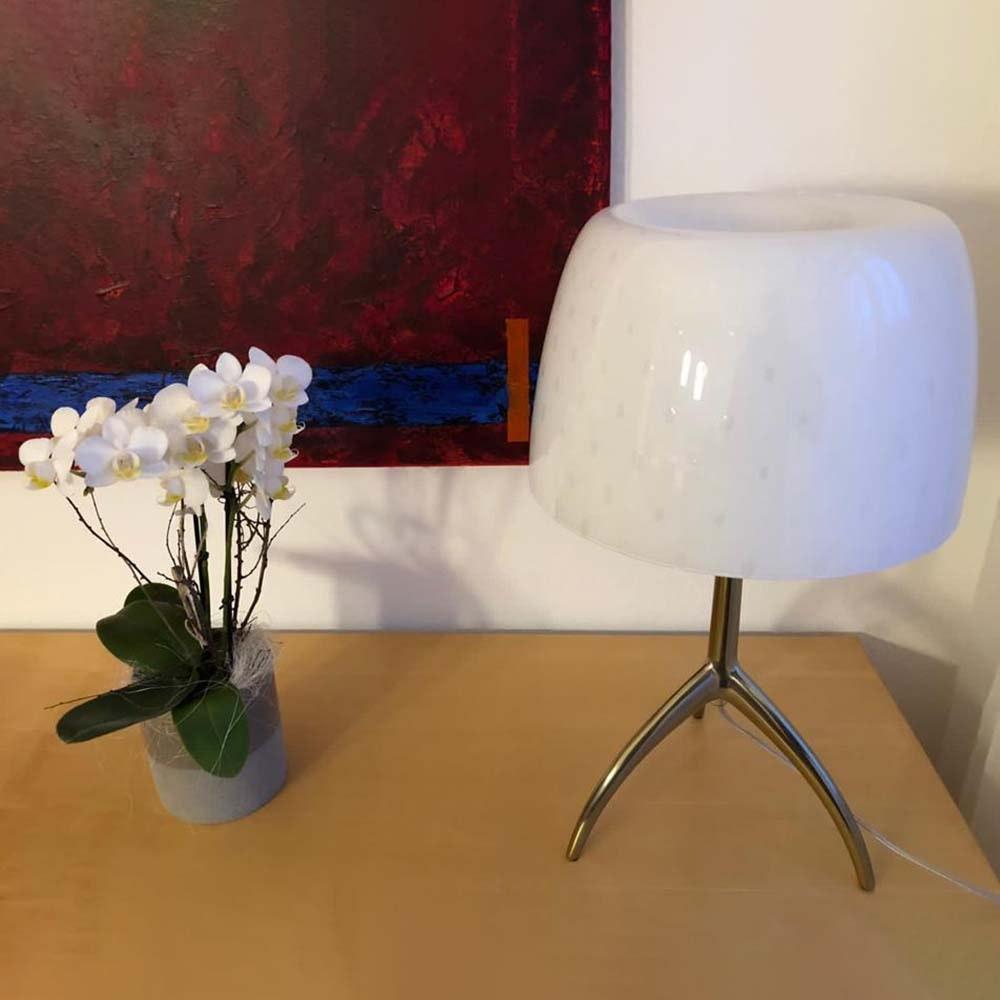 Foscarini Lumiere 30th Grande Tavolo Tischleuchte Weiß