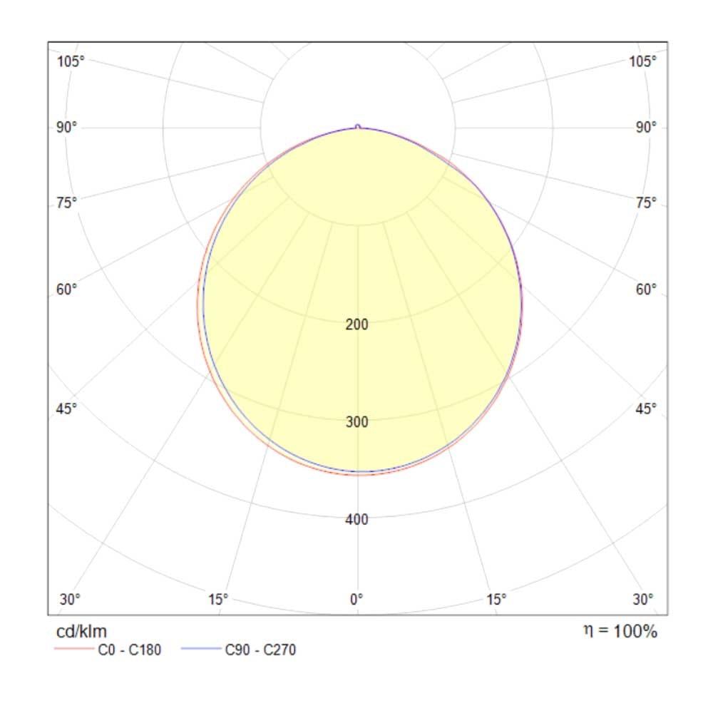 LED-Deckenleuchte Lines mit 3 Rechtecken 78cm 5000lm Schwarz 4
