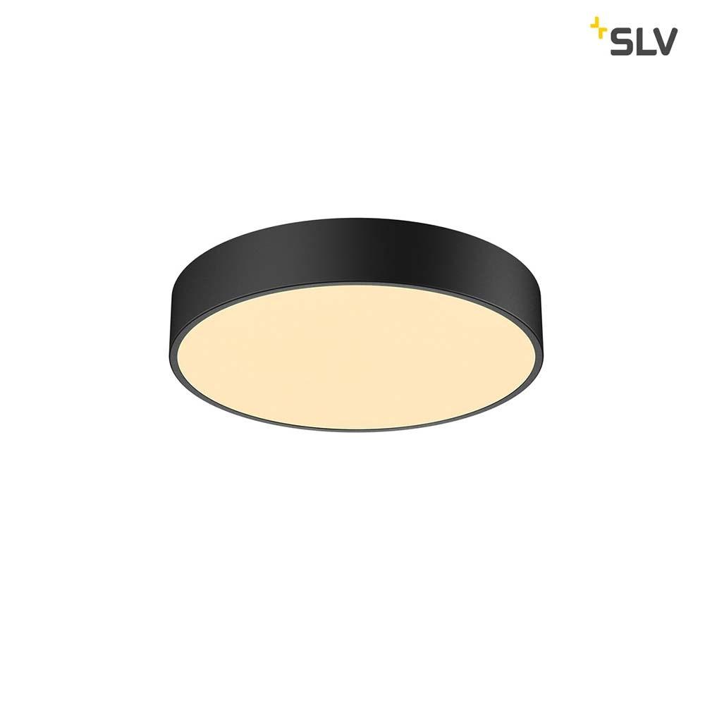 SLV Medo 40 Corona LED Aufbauleuchte Triac Schwarz 1