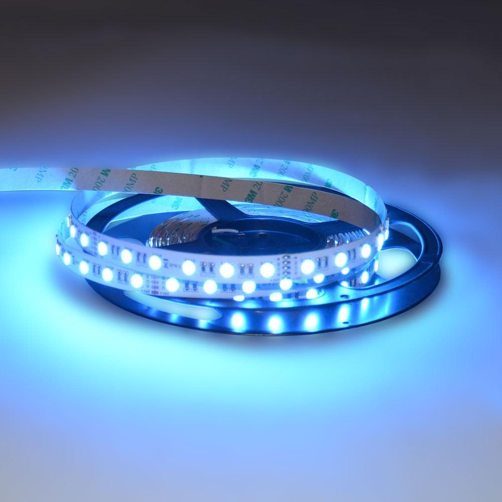 19,2 W/m RGBW Warmweiß 24V 5m LED-Strip IP20 6
