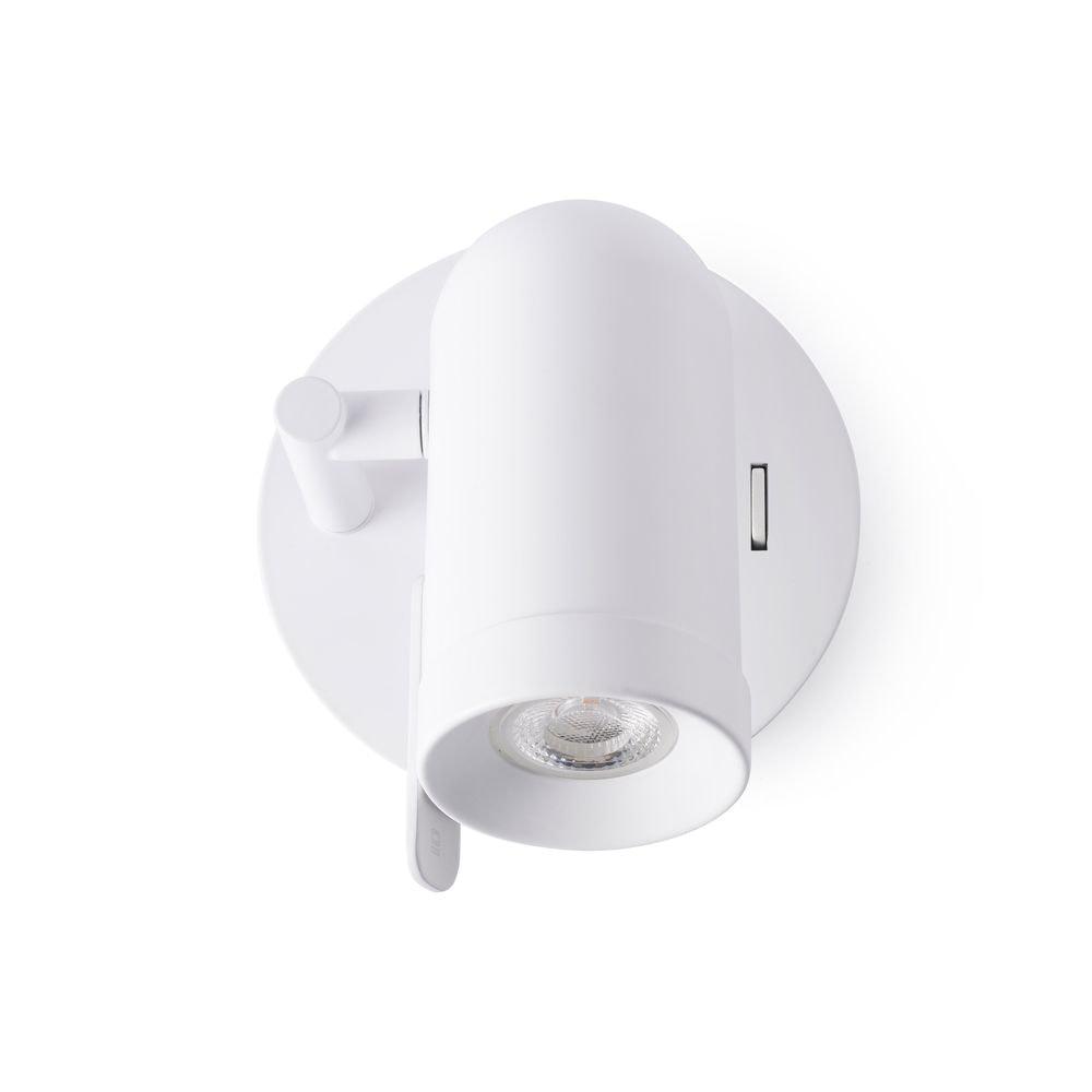 Spot Wandlampe ORLEANS IP20 Weiß