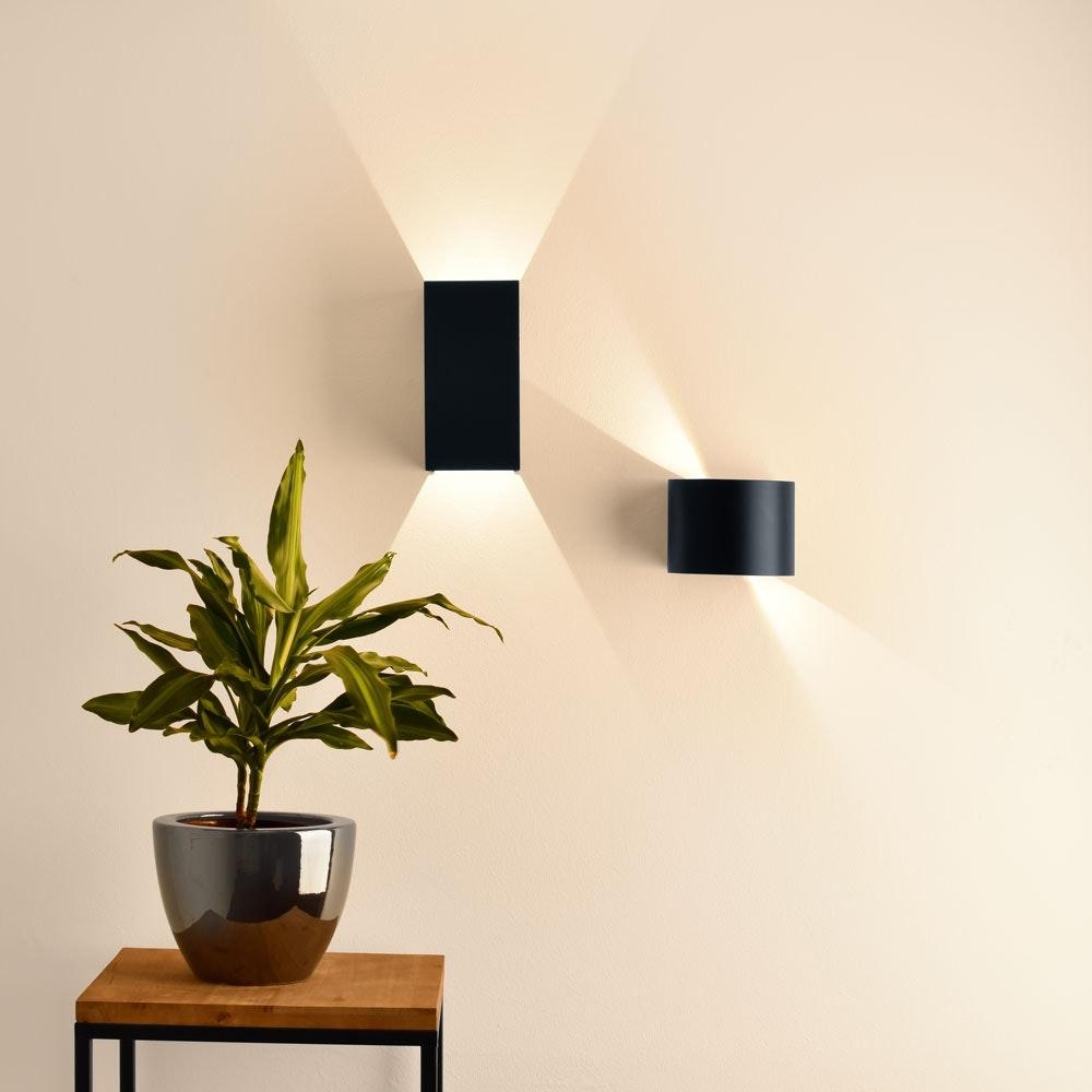 s.LUCE pro Ixa LED Innen- & Außen-Wandleuchte IP44 2