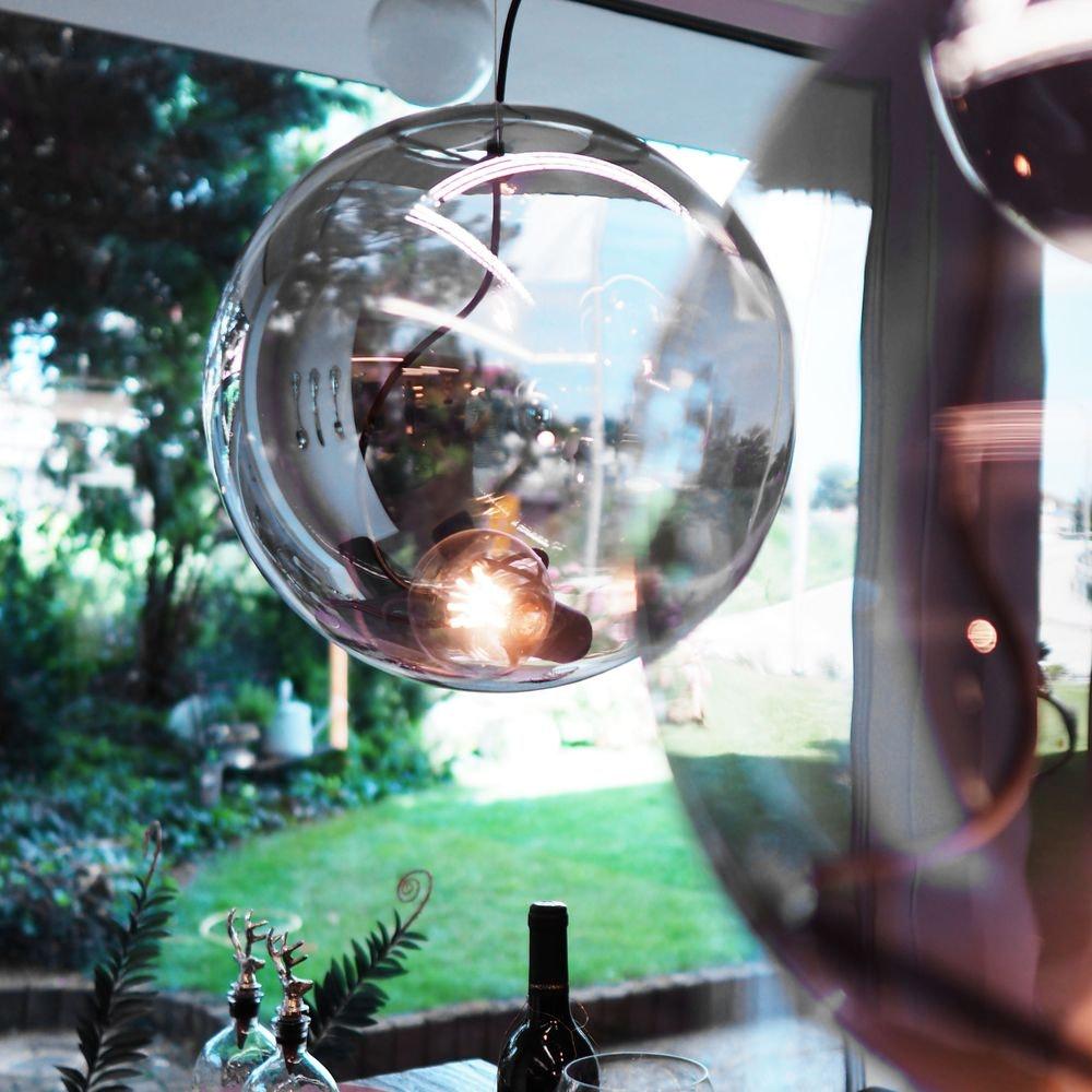 s.LUCE pro Sphere Pendelleuchte Glaskugel 14