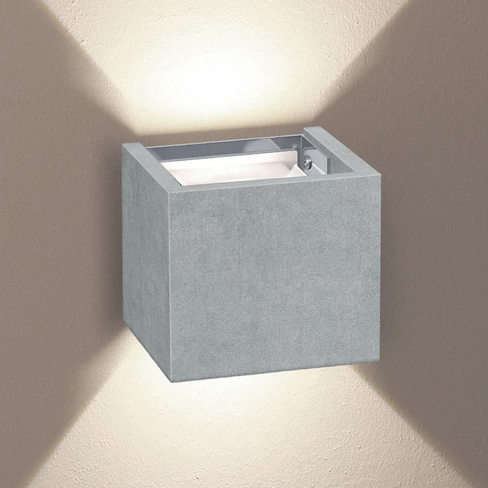 s.LUCE pro Ixa LED Innen- & Außen-Wandleuchte IP44 43